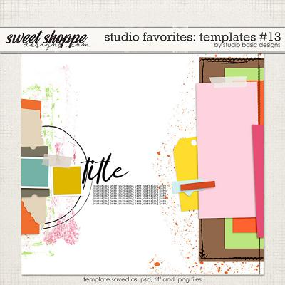 Studio Favorites: Templates #13 by Studio Basic