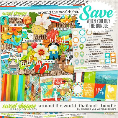 Around the world: Thailand - Bundle by Amanda Yi & WendyP Designs