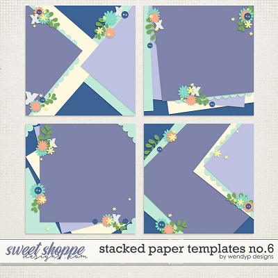 Stacked paper templates No:6 by WendyP Designs