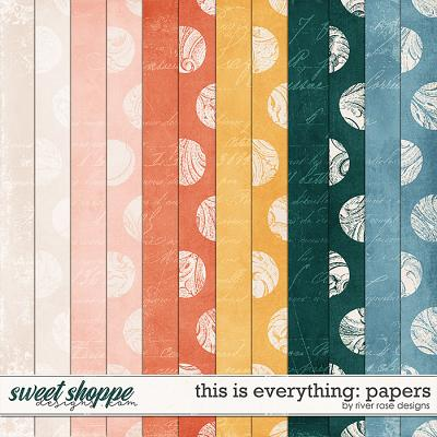 This is Everything: Papers by River Rose Designs