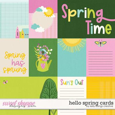 Hello Spring Cards by Kelly Bangs Creative