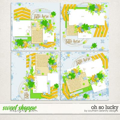 Oh So Lucky Layered Templates by Southern Serenity Designs