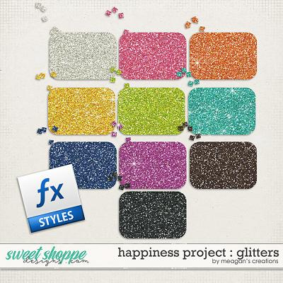 Happiness Project : Glitters by Meagan's Creations