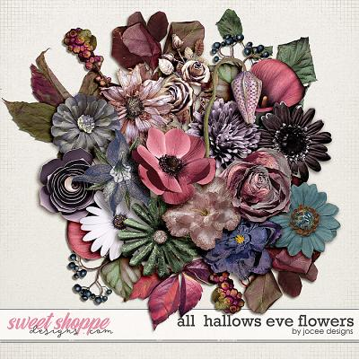 All Hallows Eve Flowers by JoCee Designs