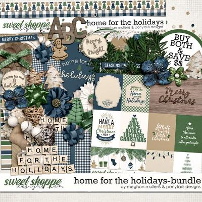 Home for the Holidays Bundle by Meghan Mullens and Ponytails Designs
