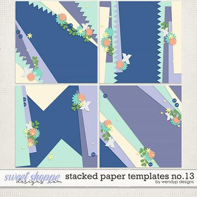 Stacked paper templates no.13 by WendyP Designs