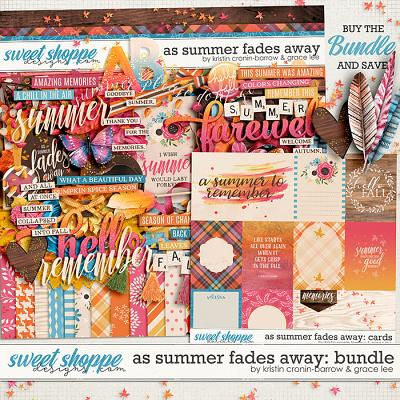 As Summer Fades Away: Bundle by Grace Lee and Kristin Cronin-Barrow