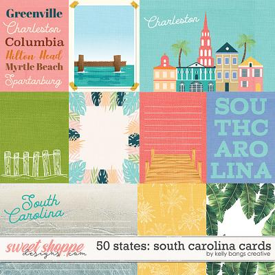 50 States: South Caroline Cards by Kelly Bangs Creative