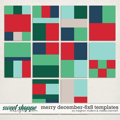 A Merry December-Album Templates by Melissa Bennett and Meghan Mullens