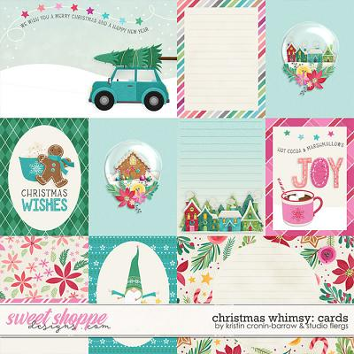 Christmas Whimsy: CARDS by Studio Flergs & Kristin Cronin-Barrow