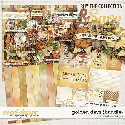 Golden Days Bundle by Ponytails