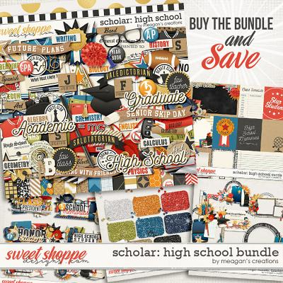 Scholar: High School Collection Bundle by Meagan's Creations