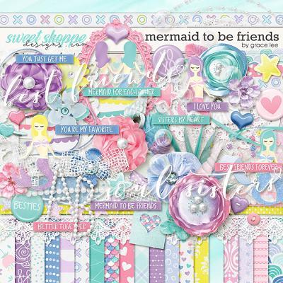 Mermaid To Be Friends by Grace Lee