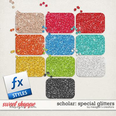 Scholar: Special Glitters by Meagan's Creations