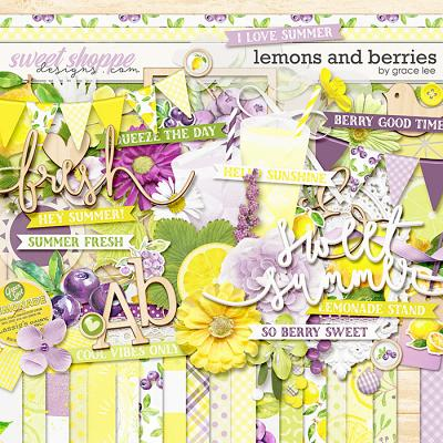 Lemons and Berries by Grace Lee