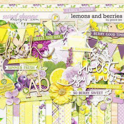Lemons and Berries by Grace Lee