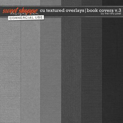 CU TEXTURED OVERLAYS | BOOK COVERS V.3 by The Nifty Pixel