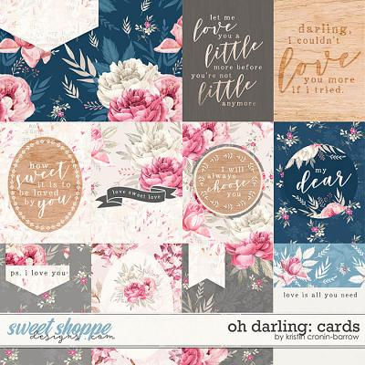 Oh Darling: Cards by Kristin Cronin-Barrow