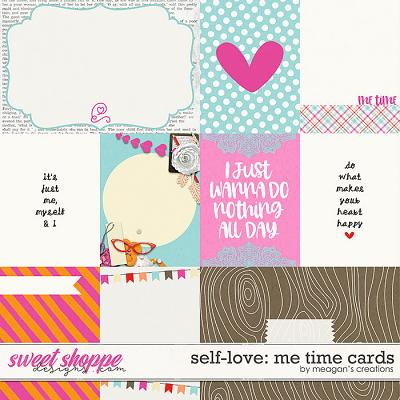 Self-Love: Me Time Cards by Amanda Yi & Meagan's Creations