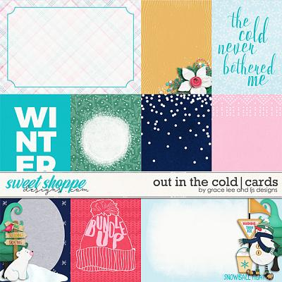 Out In The Cold: Cards by Grace Lee and LJS Designs