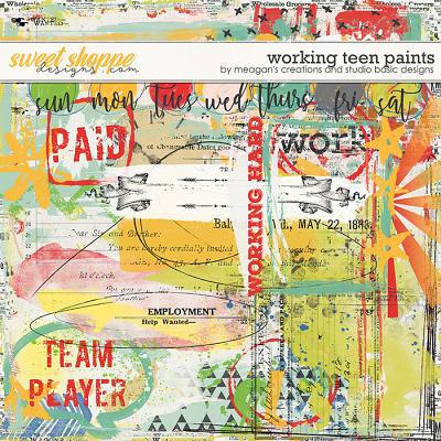 Working Teen : Paints by Meagan's Creations & Studio Basic Designs