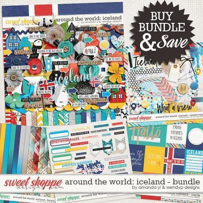 Around the world: Iceland - bundle by Amanda Yi & WendyP Designs