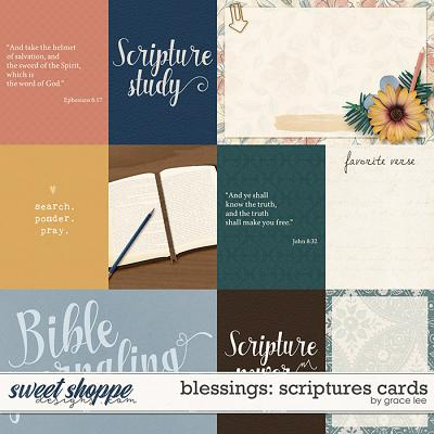 Blessings: Scriptures Cards by Grace Lee