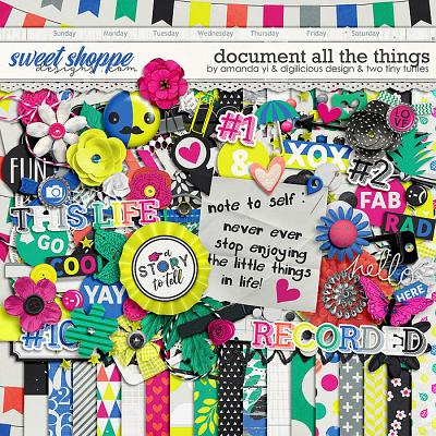 Document All The Things by Amanda Yi, Digilicious Design & Two Tiny Turtles