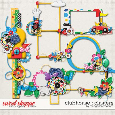 Clubhouse : Clusters by Meagan's Creations