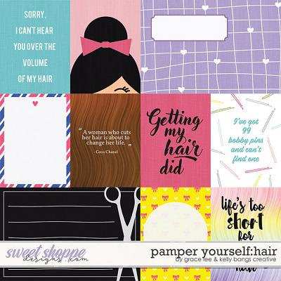 Pamper Yourself: Hair Cards by Grace Lee and Kelly Bangs Creative
