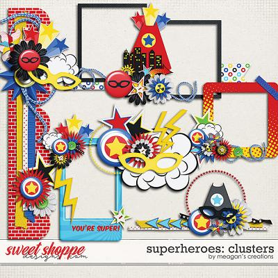 Superheroes: Clusters by Meagan's Creations