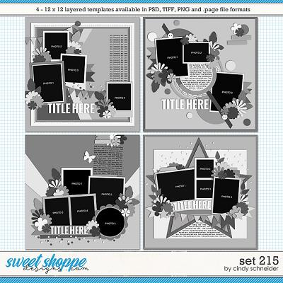 Cindy's Layered Templates - Set215 by Cindy Schneider