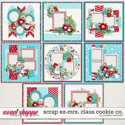 Scrap EZ-Mrs. Claus Cookie Co. by Melissa Bennett