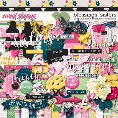 Blessings: Sisters by Grace Lee and Meagan's Creations
