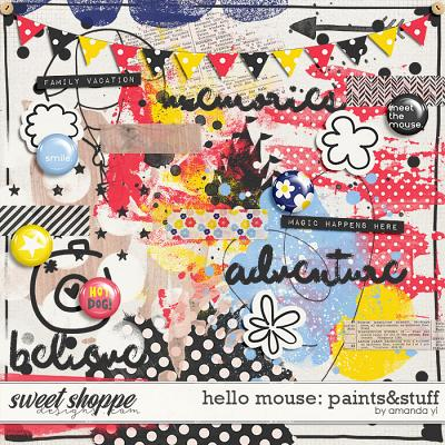 Hello Mouse: Paints&Stuff by Amanda Yi