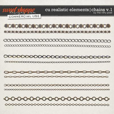 CU REALISTIC ELEMENTS | CHAINS V.1 by The Nifty Pixel