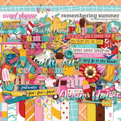 Remembering Summer by Kelly Bangs Creative