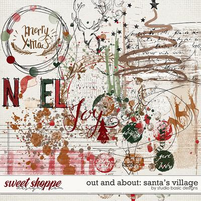 Out and About: Santa's Village Overlays by Studio Basic
