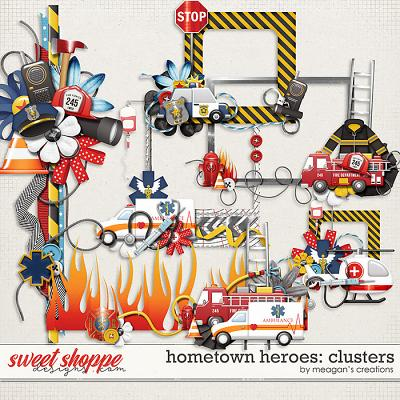 Hometown Heroes : Clusters by Meagan's Creations