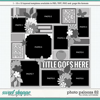 Cindy's Layered Templates - Photo Palooza 82 by Cindy Schneider