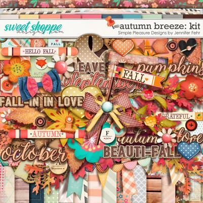 autumn breeze kit: Simple Pleasure Designs by Jennifer Fehr