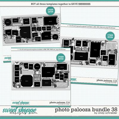 Cindy's Layered Templates - Photo Palooza Bundle 38 by Cindy Schneider