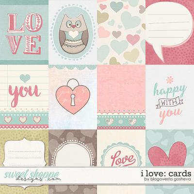 I love {cards} by Blagovesta Gosheva