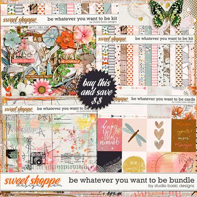 Be Whatever You Want To Be Bundle by Studio Basic