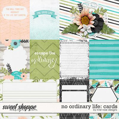 No Ordinary Life: Cards by River Rose Designs