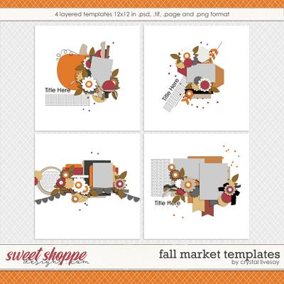 Fall Market Templates by Crystal Livesay