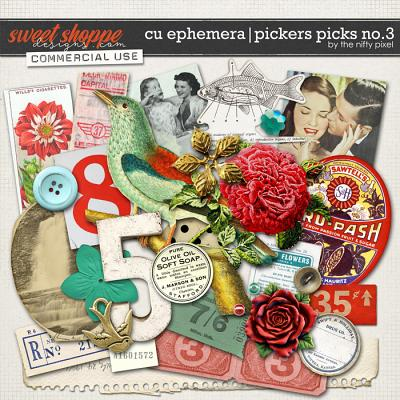 CU EPHEMERA | PICKERS PICKS No.3 | by The Nifty Pixel