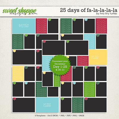 25 Days Of Falalalala by Two Tiny Turtles