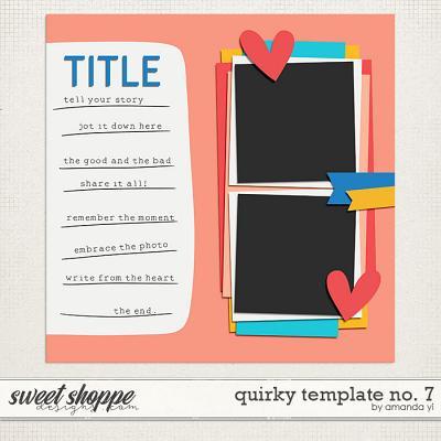 Quirky template no. 7 by Amanda Yi