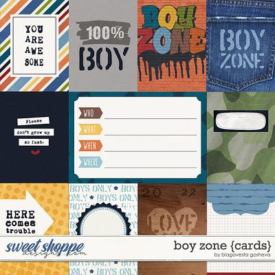 Boy Zone {cards} by Blagovesta Gosheva
